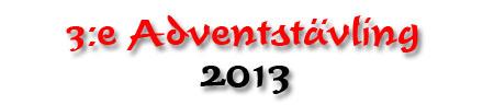 3e adventstävling