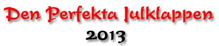 Den perfekta julklappen 2013-logga