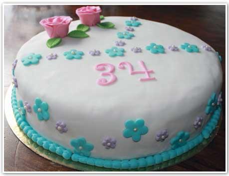 Födelsedagstårta