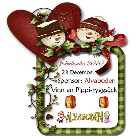 18 december Dagens lucka i julkalendern Trendenser