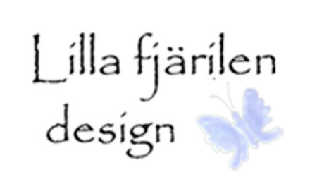Lilla fjärilen design
