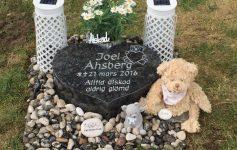 gravsten för barn